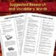 Types of Volcanoes Circle Book Manipulative