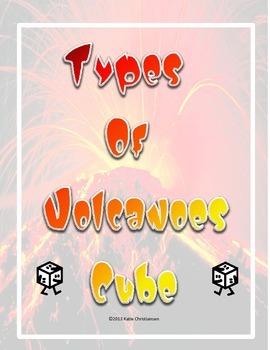 Types of Volcanoes Cube