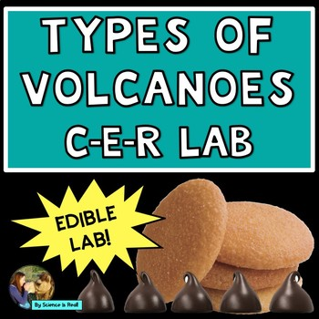 Types of Volcanoes Edible CER Lab Activity
