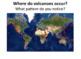 Types of Volcanoes SMART notebook presentation