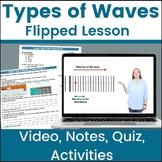 Types of Waves | longitudinal | transverse | Flipped Lesso