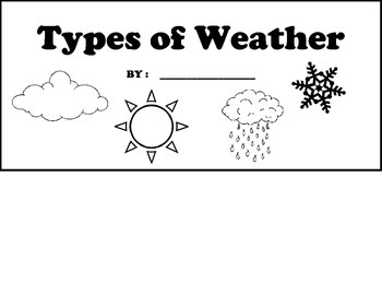 Types of Weather Flipbook