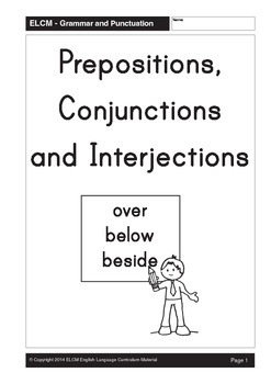 Types of Words: Prepositions, Conjunctions and Interjections