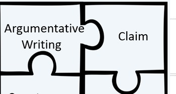 Types of Writing Puzzle Activity