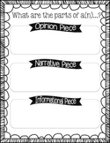 Types of Writing State Assessment Review Sheets