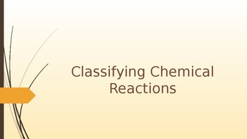 Types of chemical Reactions Notes
