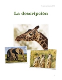 Types of description in Spanish