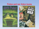Types of fiction and non-fiction powerpoint