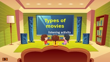 Types of movies. Listening. Part 1