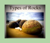 Rocks: three kinds of rocks; properties of rocks ~ a power point presentation