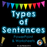 Types of Sentences PowerPoint and Worksheets