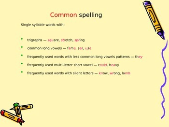 Types of spelling