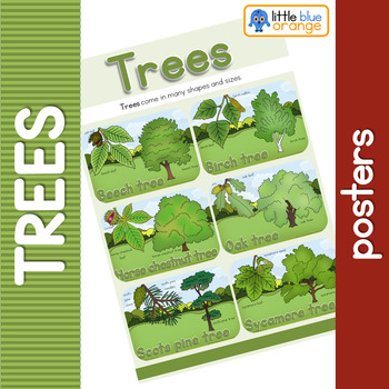 Types of tree posters