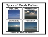 Types of Clouds Posters