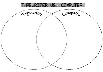 Typewriter vs Computer