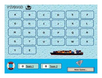 Typhoon - Powerpoint Game
