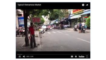 Radical Receptive Language - Typical Vietnamese Market