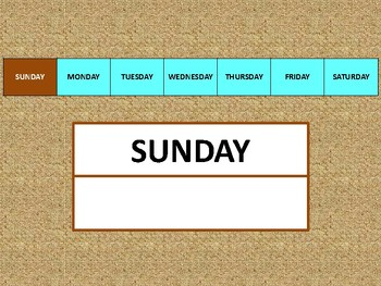 Typing Days of the Week