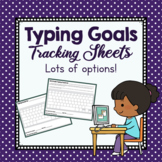Typing Goals Tracking Sheets