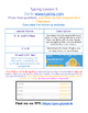 Typing Lessons - Mini Lesson 5 - Editable in Google Docs!