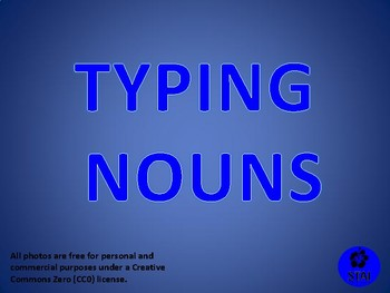 Typing Nouns