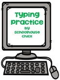 Typing Practice: Improving Keyboarding Skills
