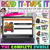 Typing Practice for Little Typists | Growing Bundle | Made