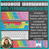 Typing Practice with Printable Keyboards - Distance Learning