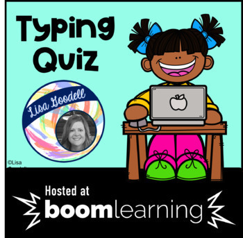 Typing Quiz Boom Cards NO PREP INTERNET ACTIVITIES