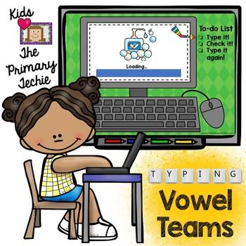 Typing Skills - Vowel Teams