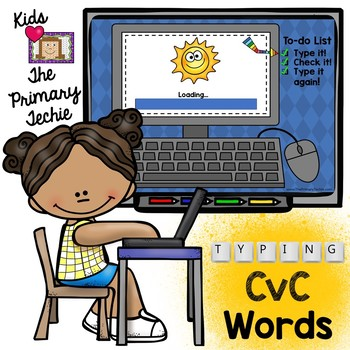 Typing Skills - CvC Words
