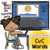 Typing Skills - CvC Words