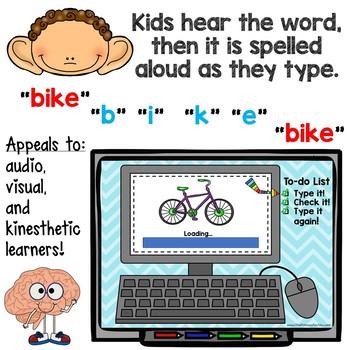 Typing Skills - CvCe Words