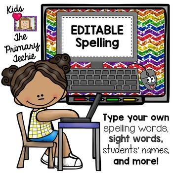 Typing Skills - Editable Spelling