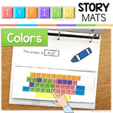 Typing Skills Story Mats: Colors