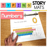 Typing Skills Story Mats: Numbers 0-10