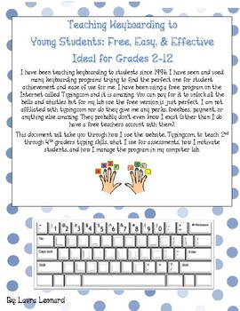 Typing.com: Teaching Keyboarding to Students
