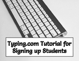 FREEBIE! Typing.com Tutorial for Setting up Student Accoun