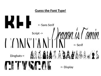 Typography Basics (PowerPoint Presentation)