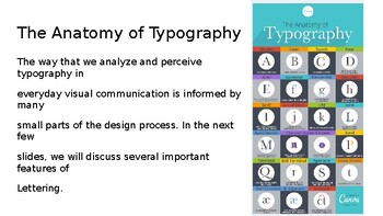 Typography Presentation & Project Guidelines