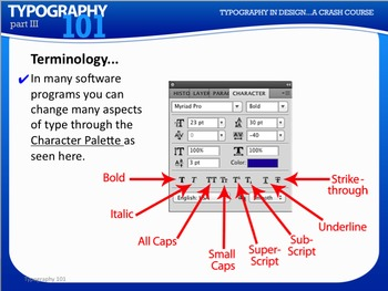 Typography101 Crash Course Professional PowerPoint w/ Guided Notes and Quizzes
