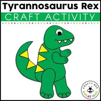 Tyrannosaurus Rex Cut and Paste