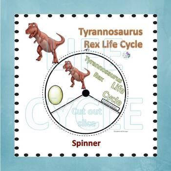 Tyrannosaurus Rex Dinosaurs (Life Cycle Spinner)