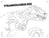 Tyrannosaurus Rex Dot-to-Dot