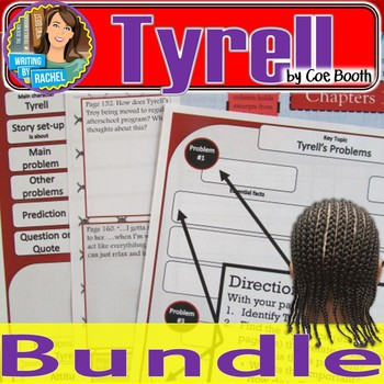 Tyrell Bundle-- Pre-Reading, Discussion, & Hip-Hop Activities, and Quizzes.