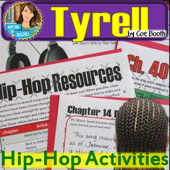 Tyrell by Coe Booth--Hip-Hop Activities