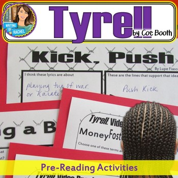 Tyrell by Coe Booth-- Pre-Reading Activities