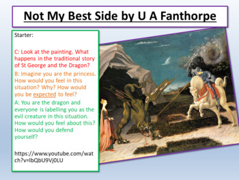 U.A. Fanthorpe - Not My Best Side - AQA Aspects