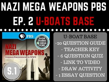 Nazi Mega Weapons PBS U-Boat Bases Season 1 Ep. 2