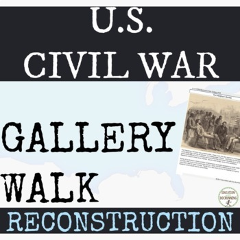 Civil War Reconstruction Graphic Organizer Teaching Resources